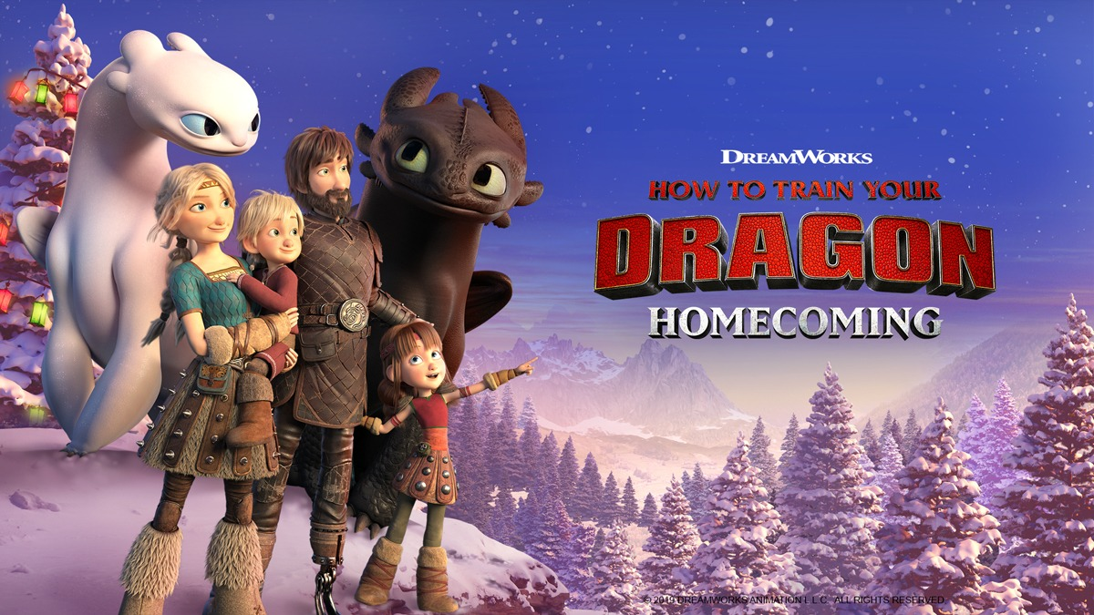 How to Train Your Dragon: Homecoming|CATCHPLAY+ Watch Full Movie